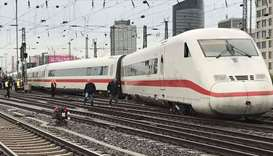 German high-speed train derails in Basel, no injuries reported