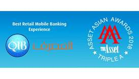 QIB chosen for 'Best Retail Mobile Banking Experience in Qatar' award