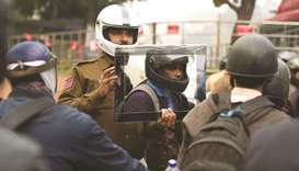Cop holds up mirror to motorbike law-breakers