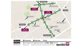 Temporary closure of Al Waab Intersection for 12 hours