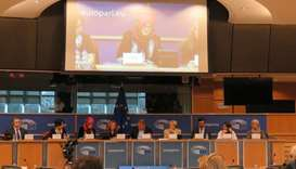 European Parliament  hearing