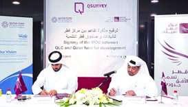 QLC, QFFD sign MoU on deployment of QSurvey