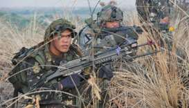 Five soldiers, three militants killed in Philippine clash