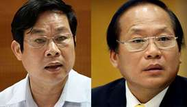 Vietnam arrests two ex-ministers suspected of mismanaging public investment