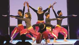 The rich dynamics of Indian contemporary dance