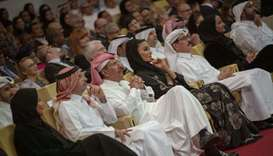 Her Highness Sheikha Moza bint Nasser, Chairperson of Qatar Foundation, attended the Qatar Philharmo
