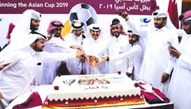 CNA-Q celebrates Qatar's Asian Cup win