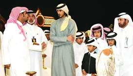 His Highness Sheikh Jassim bin Hamad al-Thani, Personal Representative of the Amir, on Friday witnes