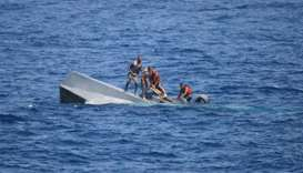 At least seven dead as migrant boat sinks off Greek island