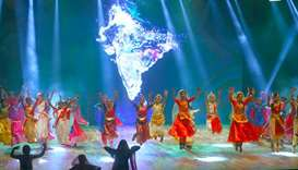 'Ticket to Bollywood' performance at the launch of Qatar-India 2019 Year of Culture