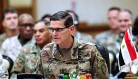 Commander of United States Central Command Joseph Leonard Votel