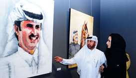 Pakistani artists showcase fascinating artworks at Katara