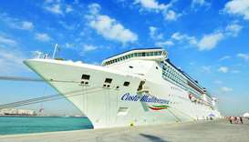Costa Mediterranea makes maiden voyage to Qatar