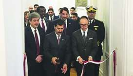 HE the Secretary-General of the Ministry of Foreign Affairs Dr Ahmed bin Hassan al-Hammadi opens Qat