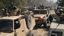Chadian army says 250 rebels captured after rebel convoy targeted