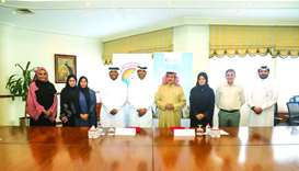 QRCS, Qatar Scientific Club sign agreement