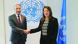 FM sends message to UNODC chief