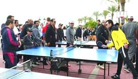 Ministry of Foreign Affairs organises several activities on Qatar Sport Day