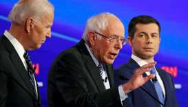Sanders, Buttigieg step forward as frontrunners in Democratic race