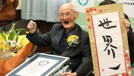 World's oldest man crowned in Japan aged 112