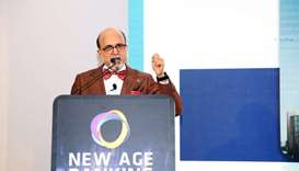 Doha Bank CEO delivers keynote address at 'New Age Banking Summit Qatar 2020'