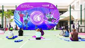 Qatar Airways Group hosts variety of Sport Day events