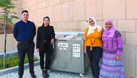 Upcycling tackles foodwaste challenge, raises awareness at GU-Q