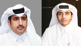 Qatar Chamber director general Saleh bin Hamad al-Sharqi and Milaha president and CEO Abdulrahman Es