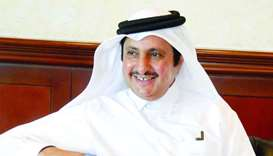 Qatar Chamber chairman Sheikh Khalifa bin Jassim al-Thani says QP's interest in supporting the expo