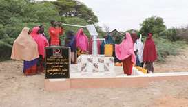 More than 1mn people in Somalia have benefited from QC projects last year.