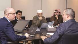 HBKU officials hold outreach activities.