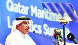 HE Jassim bin Seif al-Sulaiti says MoTC to issue a guide to protect marine e-assets and information