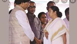 Mamata Banerjee with Pal.