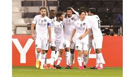 Al Sadd players