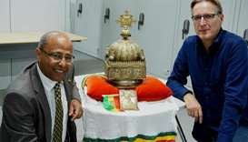 Rare Ethiopian crown, hidden for 21 years in the Netherlands, returns home