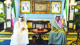 Qatar, Kuwait explore ways to boost non-oil industries