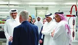 Amir visits HBKU Research Complex