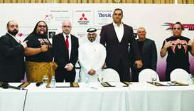 Wrestling superstars descend on Doha for QPW Superslam