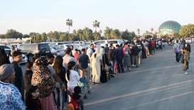 The Al Khor Family Park witnessed huge crowds Friday, the first Friday after the reopening of the pa