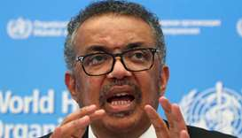 Director-General of the WHO Tedros Adhanom Ghebreyesus