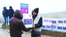 Qatar Charity continues efforts to ease Syrians' distress