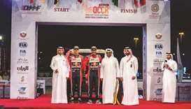 Qatar Cross-Country rally begins with Souq Waqif ceremonial start