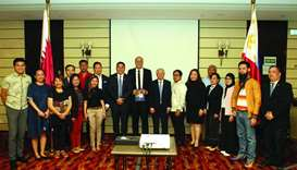 DTI-Trade Promotions Group (TPG) Undersecretary Abdulgani M Macatoman and Philippine ambassador Alan