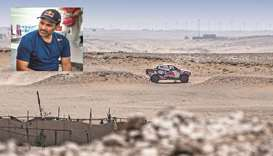 Qatar's al-Attiyah coasts into comfortable lead