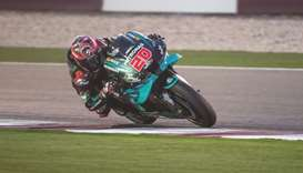 Quartararo fastest as Yamaha SRT, Suzuki continue to look strong