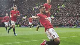 Fernandes lifts United as Wolves, Arsenal win