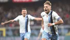 Lazio on Juve's heels as coronavirus fears hit schedule