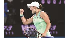 Barty says she is under no pressure to stay number one