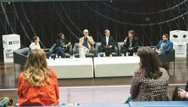 The second day of the Outside the Box: Public Art in Qatar forum was hosted by Qatar Foundation at Q