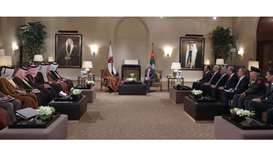 Amir, King Abdullah hold official talks